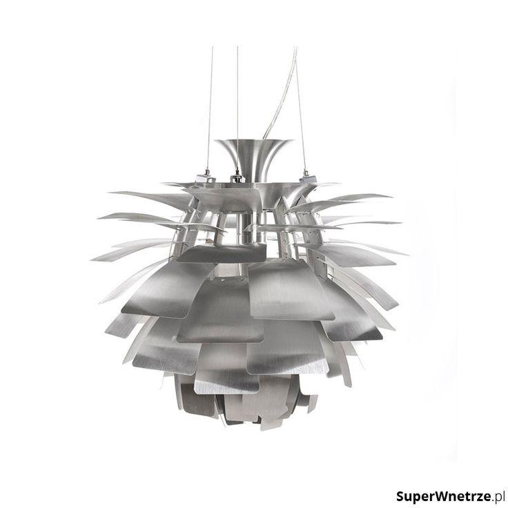 Lampa wisząca Trek Kokoon Design srebrny HL00230SI