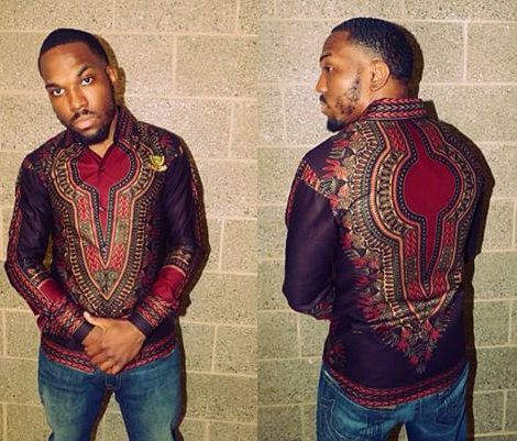 Chemisier masculine Shirt Dashiki