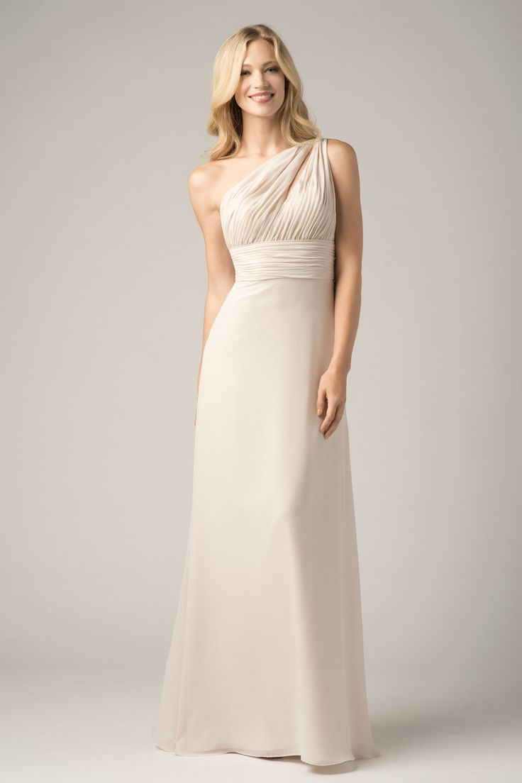 44 best bridesmaid dressed december 2016 images on pinterest one shoulder keyhole neckline sleeveless chiffon long bridesmaid dresses 2015 ombrellifo Choice Image
