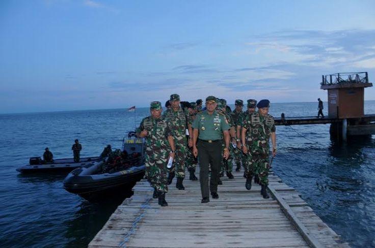 Panglima TNI : Kita Buat Pulau Kapal Induk