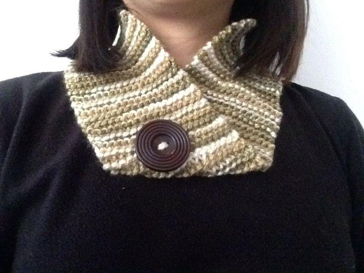 Cuello de lana anti alérgica en tonos matizados  $2000
