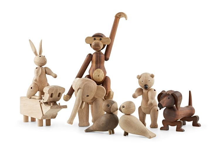 Kay Bojesen´s performance and life work  was acknowledged / all wooden figures / from the German Design Award 2014 jury