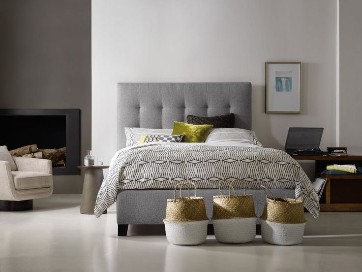 Superb ... Nest Theory Martin Queen Upholstered Bed, And Other Bedroom Upholstered  Beds At Howell Furniture In Beaumont And Nederland, TX And Lake Charles, LA.