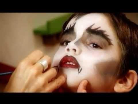 ▶ Vampíro - Maquillaje Artístico Infantil (6/12) - YouTube