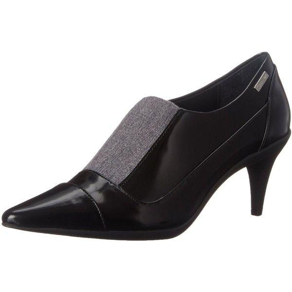 Calvin Klein Women's Greta Dress Pump ($100) ❤ liked on Polyvore featuring shoes, pumps, calvin klein pumps, calvin klein footwear, calvin klein shoes, dress pumps and calvin klein