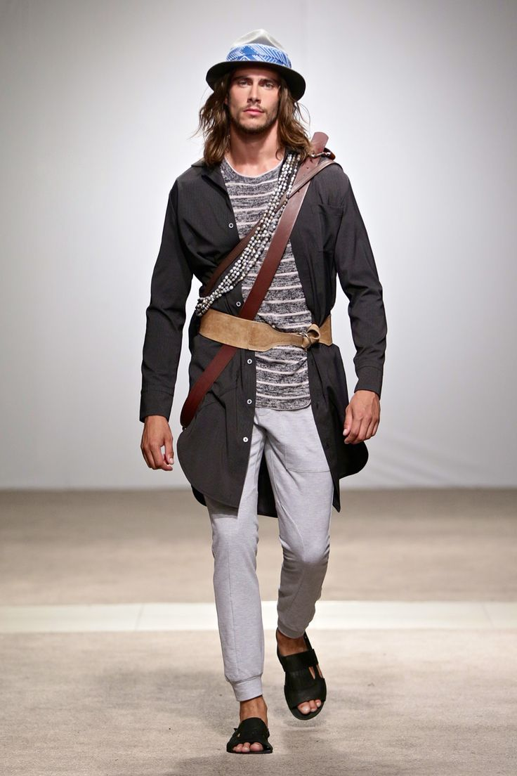 ALC Menswear AW17: Look 1 -- Photo: Simon Deiner at South African Menswear Week