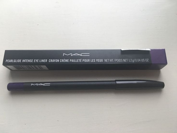 Mac Cosmetics Pearlglide Intense Eye Liner Designer Purple Authentic New in Box   eBay