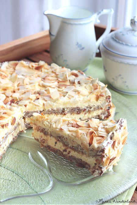 Swedish Almond Cake • from Maras Wunderland