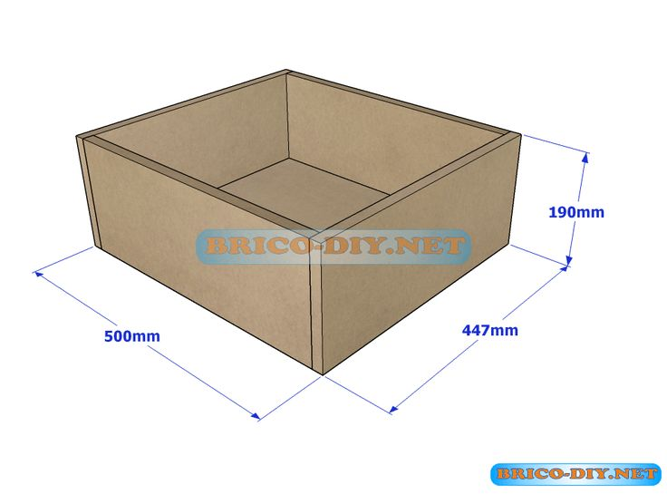 Brico web donde aprenderas bricolaje decoraci n for Como armar muebles de mdf