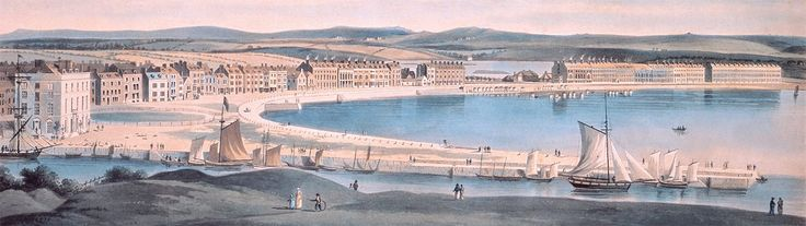 18th century Weymouth bay painting, http://www.bayview-weymouth.co.uk/