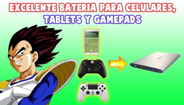 Excelente Batería para Celulares, Tablets y Gamepads / VINSIC Alien 20000mAh
