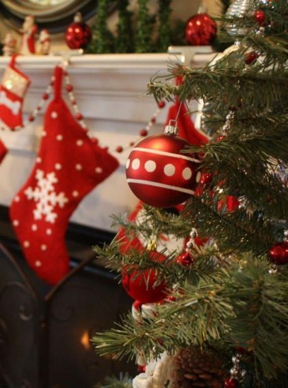 Tradicionales decoraciones de Navidad