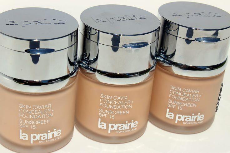 Beauty Professor: La Prairie Skin Caviar Concealer + Foundation...in...