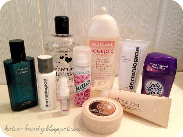projekt denko/ finished beauty products
