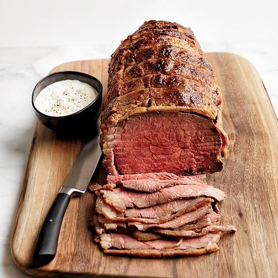 Stupid-Simple Roast Beef with Horseradish Cream | This is the best roast beef recipe ever; just plan on a few days of salt-curing.