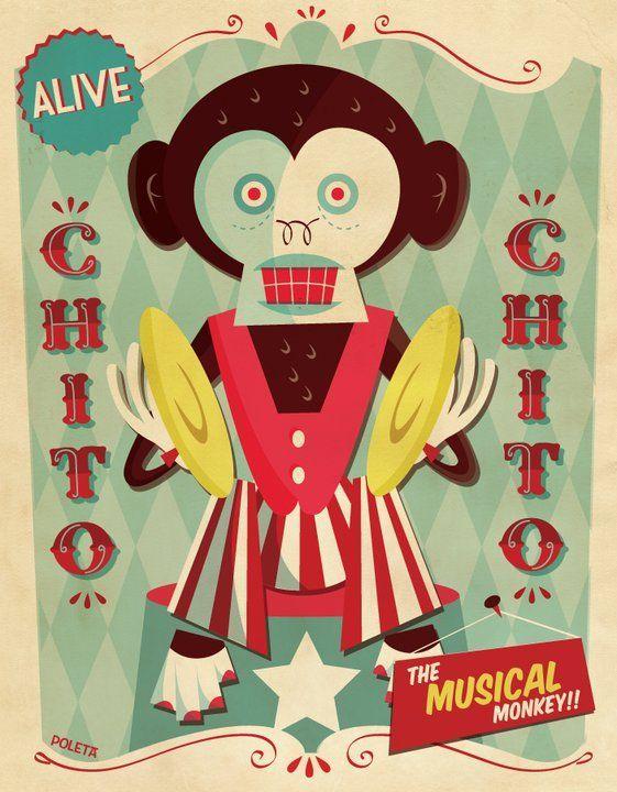 [Chito] Circus serie by Poleta Art