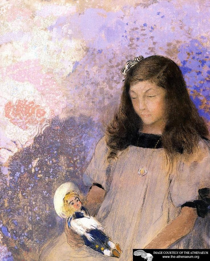 Portrait of Simone Fayet Odilon Redon