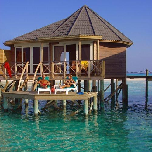 Sangu Water Villa at Kuredu Island Resort, Maldives