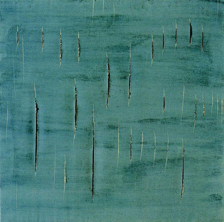 Concept Spatiale, Lucio Fontana. 1958.