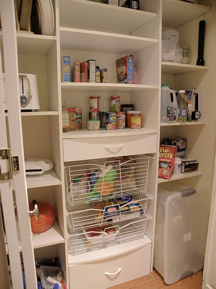 Small Kitchen Pantry Ideas Delectable Inspiration