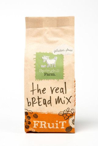 Springhill Farm - Gluten Free - The Real Bread Mix - Fruit