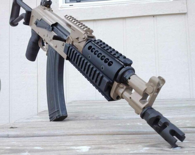 Highly modified AK