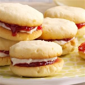 Raspberry Coconut Cookies Recipe