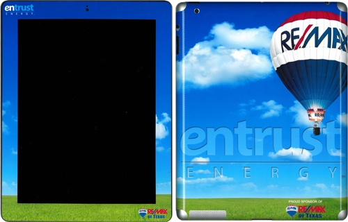 Entrust Energy and RE/MAX of Texas iPad Skin