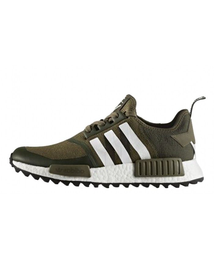 77c2b438223a3 Cheap Adidas White Mountaineering X NMD R1 Trail Trace Olive Shoes ...
