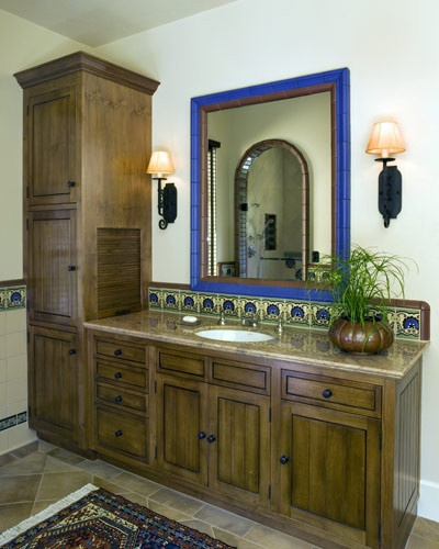 Mexican Tile Bathroom Home Design Ideas Pictures Remodel: 17 Best Images About Talavera Tile Ideas We Like On