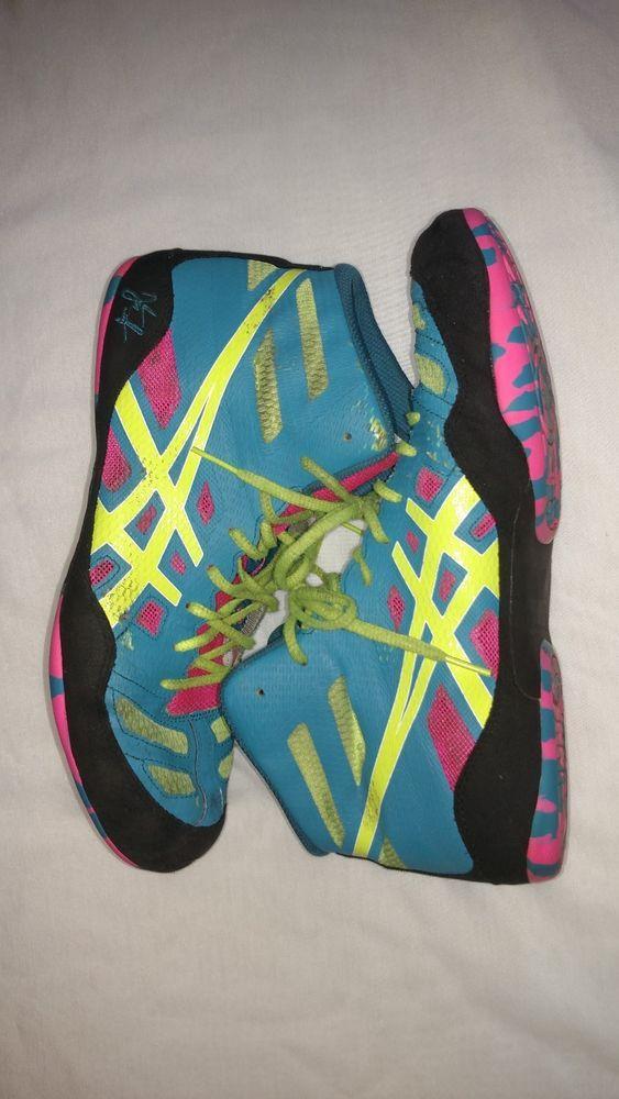 3a0634b4d3493 Asics Jb Elite Wrestling Boot Wrestling Men's Shoes size 10 #fashion ...