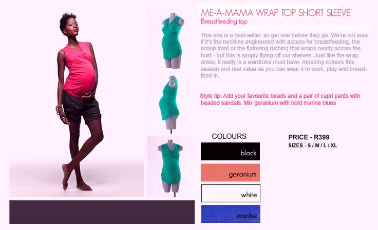 Coco Wrap Top R399 - Click on image to show all info