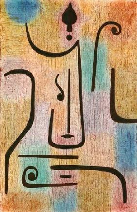 Paul Klee - The archangel                                                                                                                                                                                 Plus