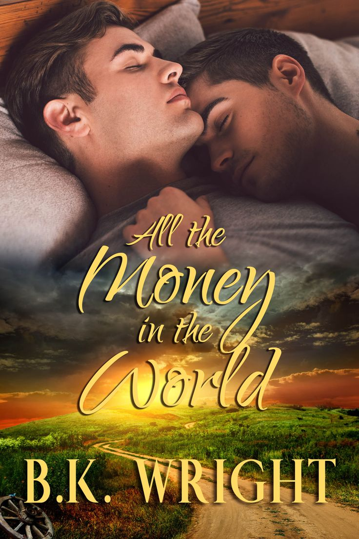 Gay Romance Book Cover Design by Chloe Belle Arts for B.K. Wright
