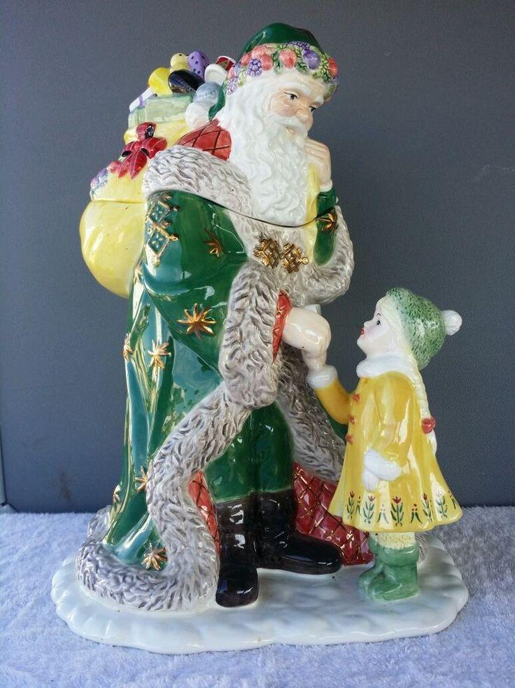 17 Best Images About Santa Cookie Jars On Pinterest