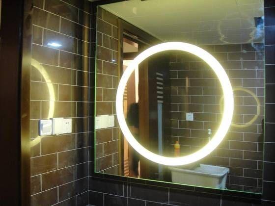 Backlit Bathroom Mirror Diy Backlit Bathroom Mirror Diy