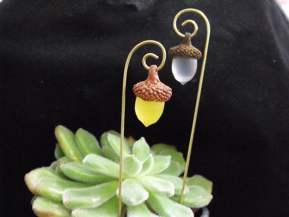 Acorn Fairy Lantern by HiddenWorlds on Etsy