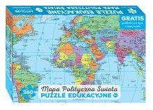 Świat polityczny puzzle dla dzieci, puzzle, ArtGlob