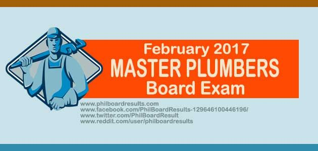 Top Performing Schools: February 2017 Master Plumbers Board Exam Result | PhilBoardResults