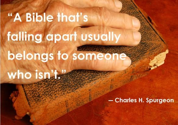 Charles H. Spurgeon quote  #Bible
