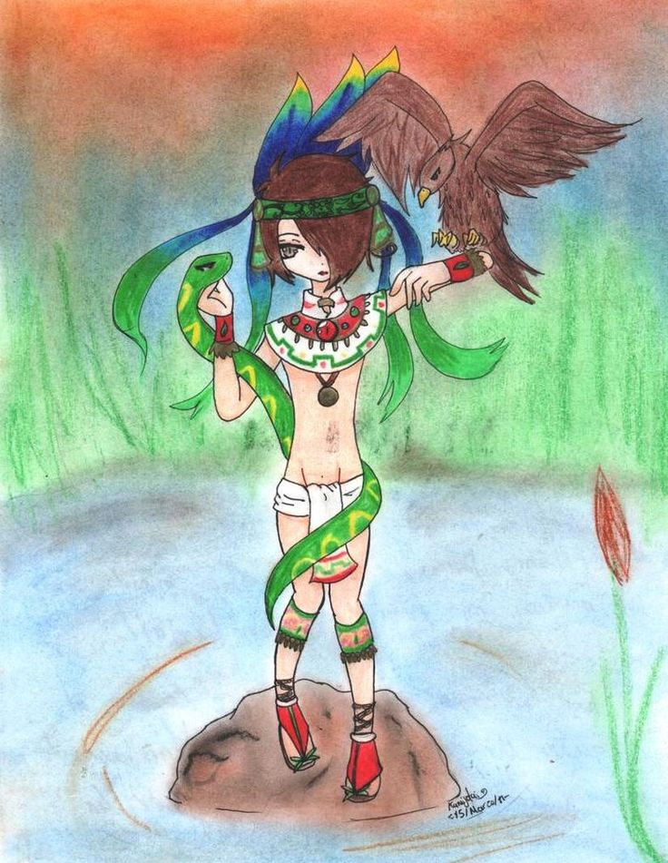 Fundacion de Tenochtitlan by Kamijotai on DeviantArt