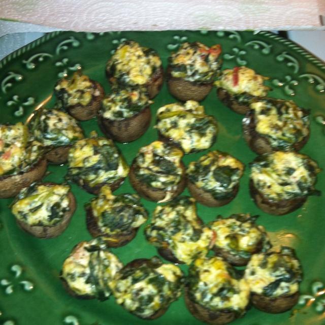 Stuffed portobello mushrooms! | Bon Appetit | Pinterest
