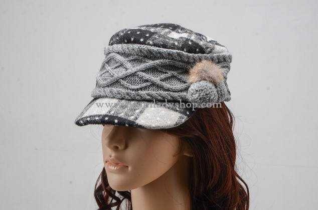 Cute women's winter hat