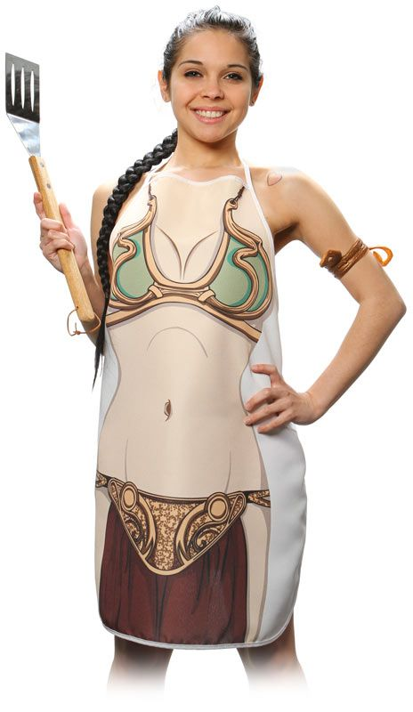 Star Wars Princess Leia Apron. So getting this for my princess
