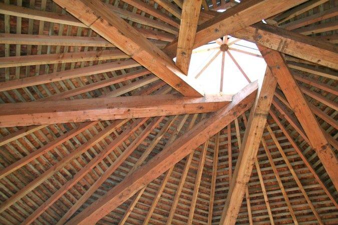 Octagonal Roof Construction Pinterest Copper Plays
