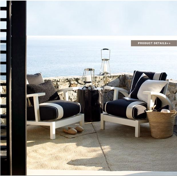 modern beach furniture. Ralph Lauren Home Black Sands Collection Nautical And White Modern Beach Style Furniture 4