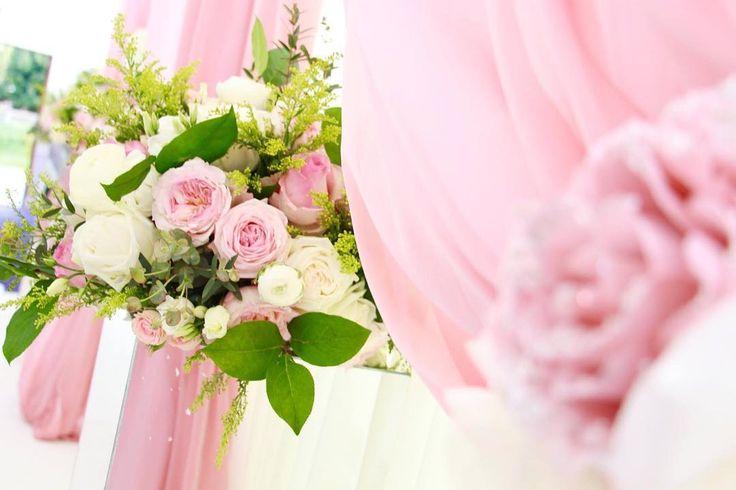 Florals and draping. #floralarrangement #drapingdesigns #weddingstyle #weddingseason