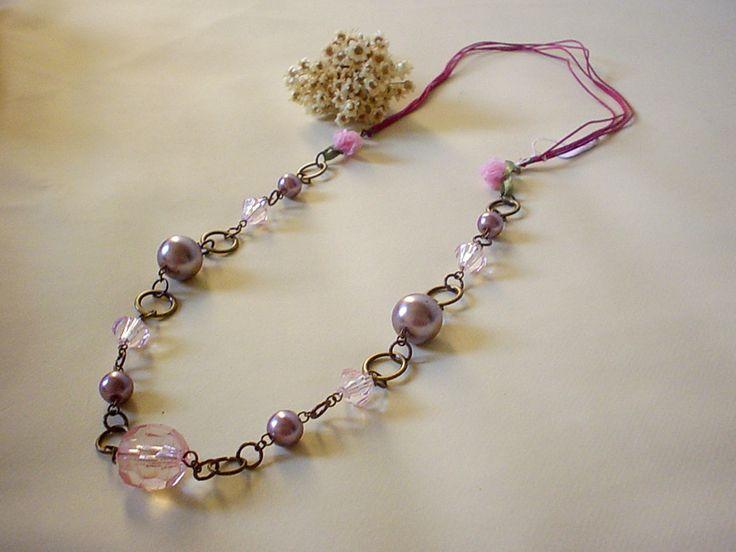 Colar Rosinha - Little Rose Necklace | Beat Bijou | Elo7