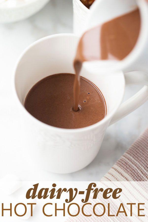 Dairy Free Hot Chocolate Recipe Dairy Free Hot Chocolate Dairy Free Healthy Hot Chocolate