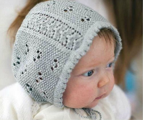 Beloved Baby Bonnet Knitting Pattern - This sweet little cap was inspired by an extant hand-embroidered infant's bonnet from the Regency era.